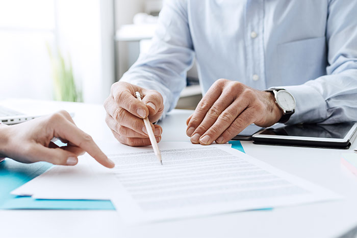 Business Contract with Estlund and Associates